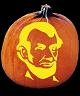 SPOOKMASTER ABRAHAM LINCOLN PUMPKIN CARVING PATTERN