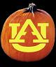 AUBURN TIGERS PUMPKIN CARVING PATTERN