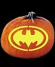 SPOOKMASTER BAT SYMBOL PUMPKIN CARVING PATTERN