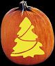 SPOOKMASTER CHRISTMAS TREE PUMPKIN CARVING PATTERN