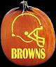SPOOKMASTER NFL FOOTBALL CLEVELAND BROWNS PUMPKIN CARVING PATTERN