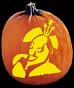 CLOWNING AROUND PUMPKIN CARVING PATTERN