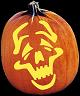 COMEDY PUMPKIN CARVING PATTERN
