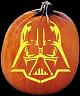 SPOOKMASTER DARTH VADER PUMPKIN CARVING PATTERN