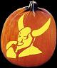 DEVIL'S PLAYGROUND PUMPKIN CARVING PATTERN