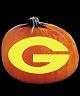 GEORGIA BULLDOGS PUMPKIN CARVING PATTERN