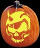 GHOST RIDER PUMPKIN CARVING PATTERN