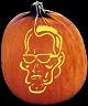SPOOKMASTER GOVERNATOR PUMPKIN CARVING PATTERN