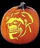HULK SIGNAL PUMPKIN CARVING PATTERN