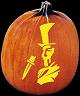 SPOOKMASTER JACK THE RIPPER PUMPKIN CARVING PATTERN