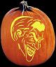 SPOOKMASTER JOKER BATMAN PUMPKIN CARVING PATTERN