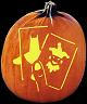 SPOOKMASTER JOKERS WILD PUMPKIN CARVING PATTERN