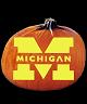 MICHIGAN WOLVERINES PUMPKIN CARVING PATTERN