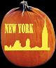 SPOOKMASTER NEW YORK PUMPKIN CARVING PATTERN