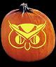 SPOOKMASTER NIGHT OWL PUMPKIN CARVING PATTERN