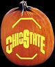 OHIO STATE BUCKEYES PUMPKIN CARVING PATTERN