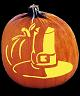 SPOOKMASTER THANKSGIVING PILGRIM PUMPKIN CARVING PATTERN