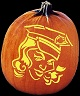 SPOOKMASTER POLICE OFFICER PUMPKIN CARVING PATTERN