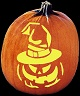 SPOOKMASTER PUMPKIN POSSESSED WARLOCK PUMPKIN CARVING PATTERN