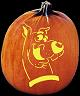 SPOOKMASTER SCOOBY DOO PUMPKIN CARVING PATTERN