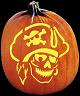 SPOOKMASTER SHIVER ME TIMBERS PIRATE PUMPKIN CARVING PATTERN