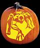 SPOOKMASTER SPIDEY SENSES SPIDERMAN PUMPKIN CARVING PATTERN