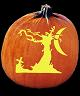DARK AND STORMY NIGHT PUMPKIN CARVING PATTERN