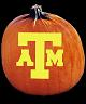 TEXAS A & M AGGIES PUMPKIN CARVING PATTERN