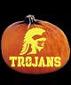USC TROJANS PUMPKIN CARVING PATTERN