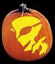SPOOKMASTER VISITOR ALIEN PUMPKIN CARVING PATTERN