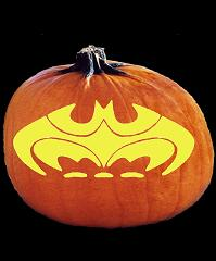 SPOOKMASTER BATMAN THE DARK KNIGHT PUMPKIN CARVING PATTERN