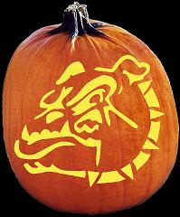 SPOOKMASTER BULLDOG PUMPKIN CARVING PATTERN