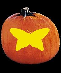 spookmaster butterfly pumpkin carving pattern jack o lantern rh spookmaster com easy butterfly pumpkin carving patterns