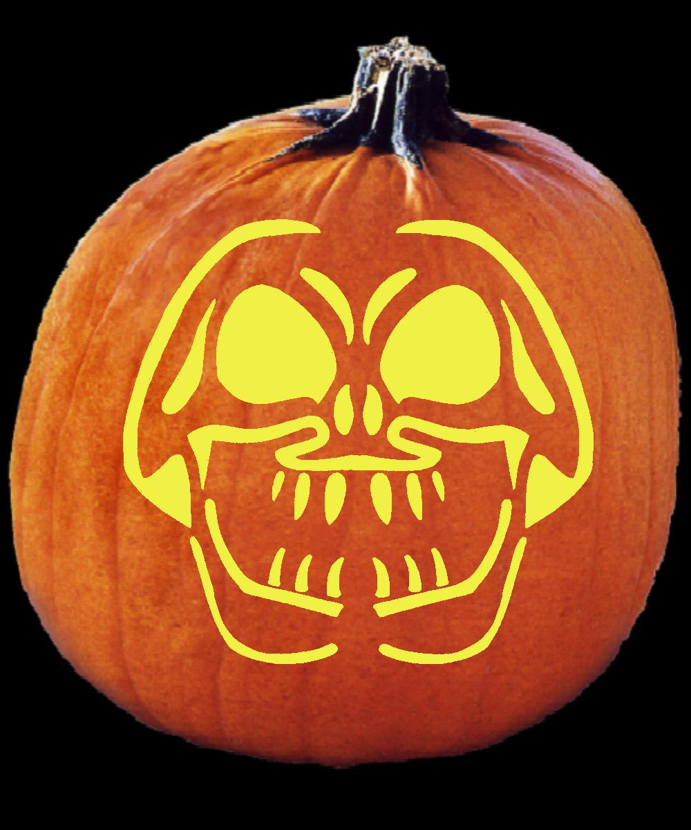 disturbed logo pumpkin carving patterns - HD 1000×1200