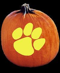 Spookmaster Clemson Tigers College Football Team Pumpkin Carving