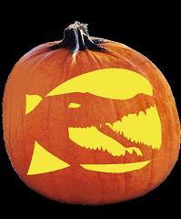 Crocodile Pumpkin Carving