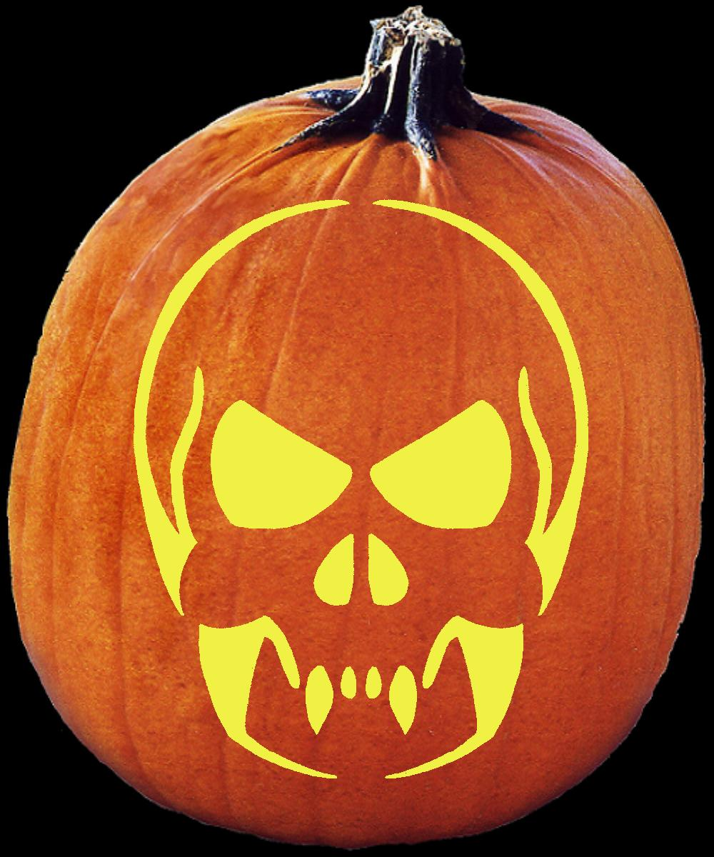 Spookmaster online pumpkin carving patterns media