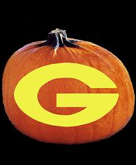 SpookMaster Georgia Bulldogs College Football Team Pumpkin Carving Pattern