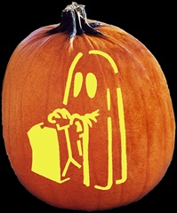 SPOOKMASTER HAPPY HAUNTING PUMPKIN CARVING PATTERN