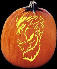 Spookmaster Joker Batman Pumpkin Carving Pattern Jack O Lantern