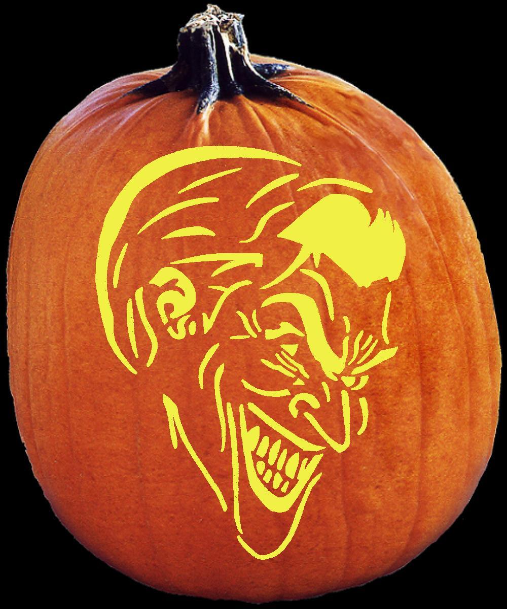 Joker Pumpkin Carvings Joker Pumpkin Carving