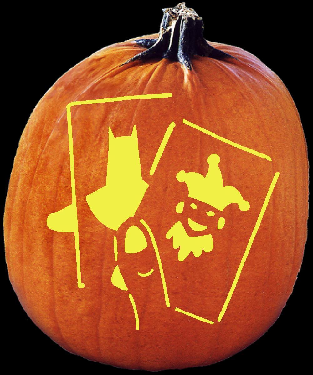 The gallery for gt joker face stencil pumpkin