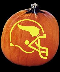 Football Fly Out - Stoneykins Pumpkin Carving Patterns and Stencils