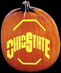pumpkin carving patterns ohio state buckeyes Ohio State Pumpkin Carving Patterns