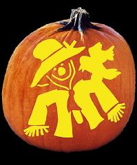 SPOOKMASTER SCARECROW PUMPKIN CARVING PATTERN